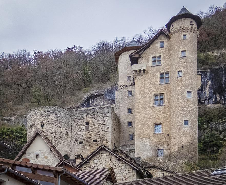 Castle Gothic Old Architecture Wall House