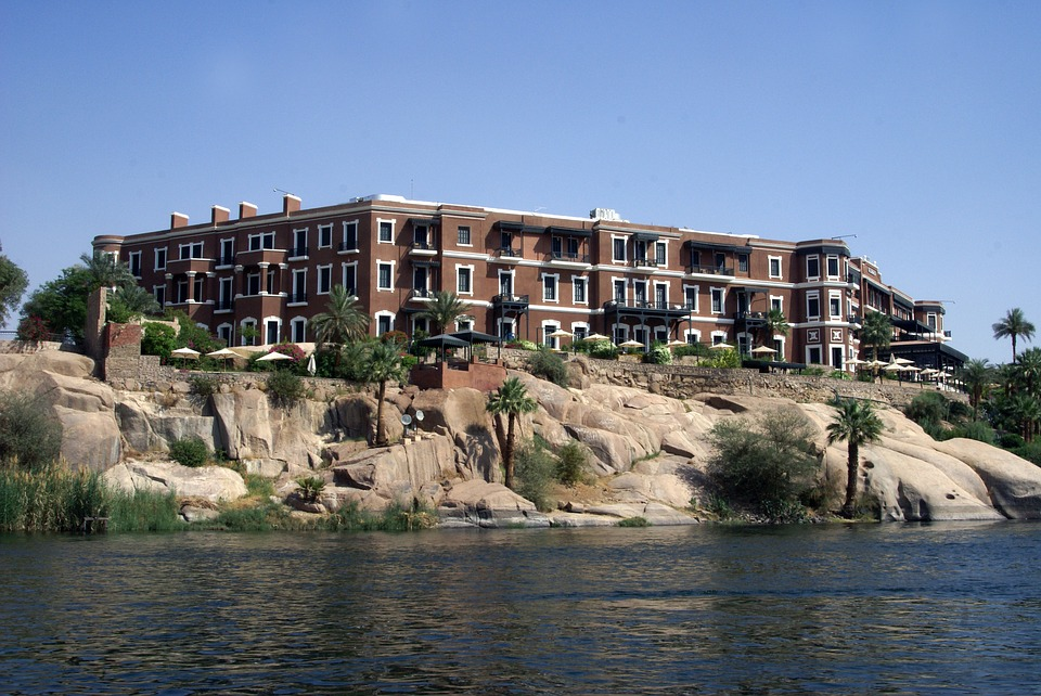 Hotel, Aswan, Old Cataract, English, Christie