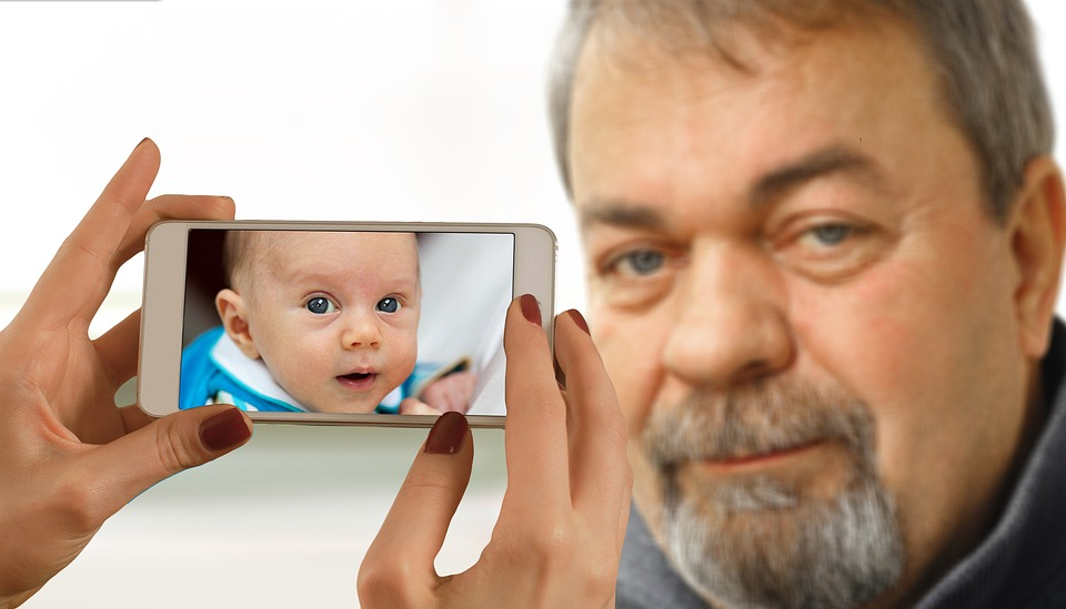 Youth, Age, Smartphone, Face, Man, Old, Boy, Child