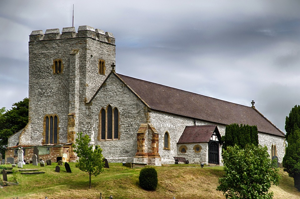 Old Church, Church, Architecture, Building, Landmark