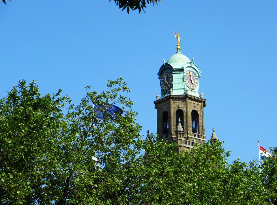 Rotterdam, Church, Spire, Netherlands, City, Dutch, Old