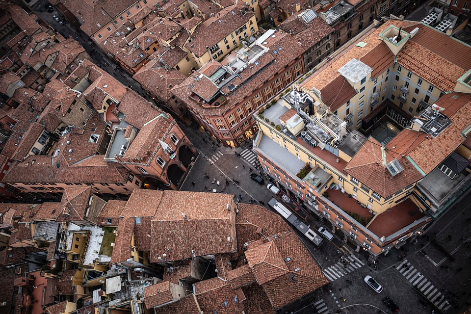Old City, Old Architecture, City, View, Streets, Roofs