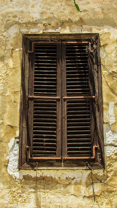 Cyprus, Famagusta, Old City, Old House, Window