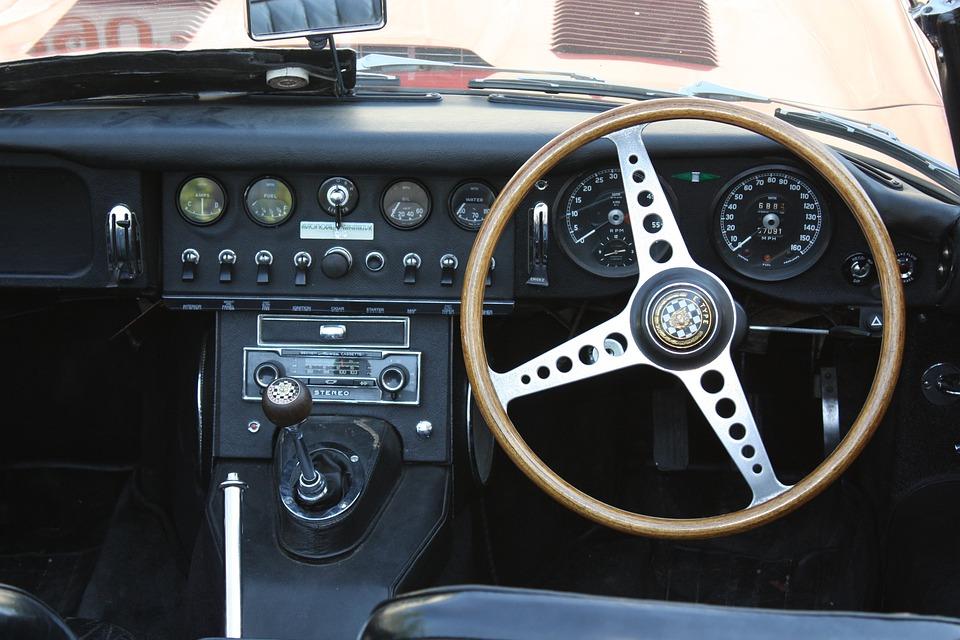 Free photo Old Classic Oldtimer E Type Luxury Jaguar - Max Pixel