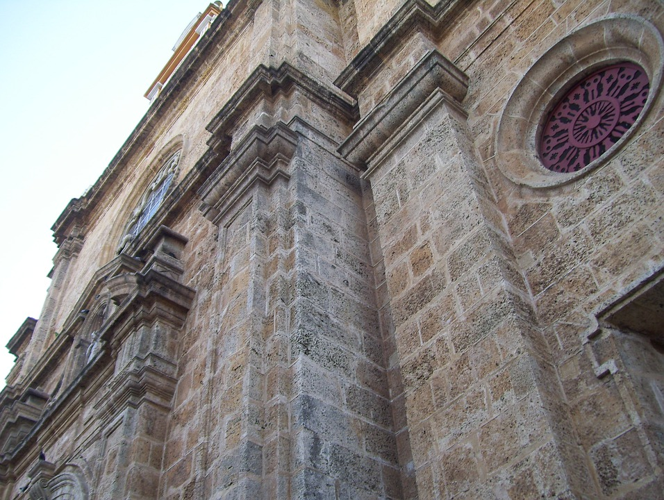 Cartagena, Colombia, Church, Old, Architecture, History