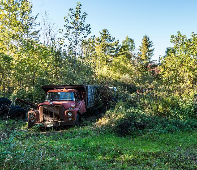 Truck, Rustic, Rural, Countryside, Old, Antique