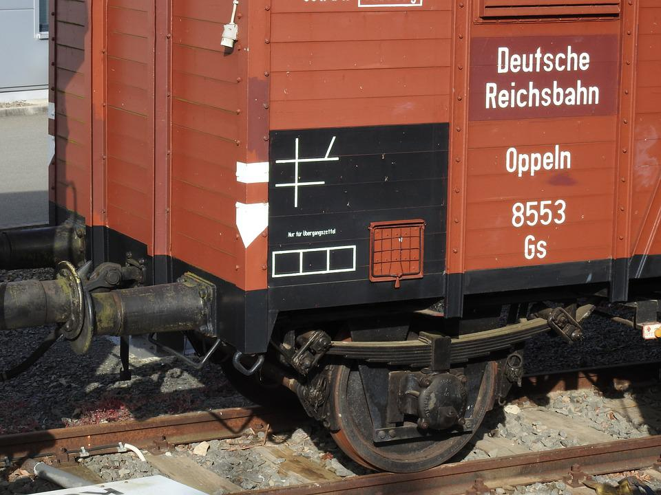 Wagon, Railway, Transport, Rail Traffic, Dare, Old