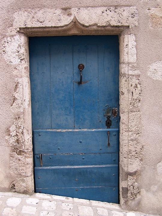 Old, Old Door, Hellas, Greek