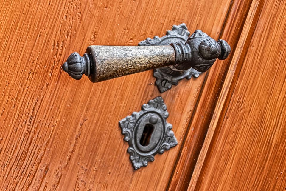 Handle, Door Handle, Architecture, Historically, Old