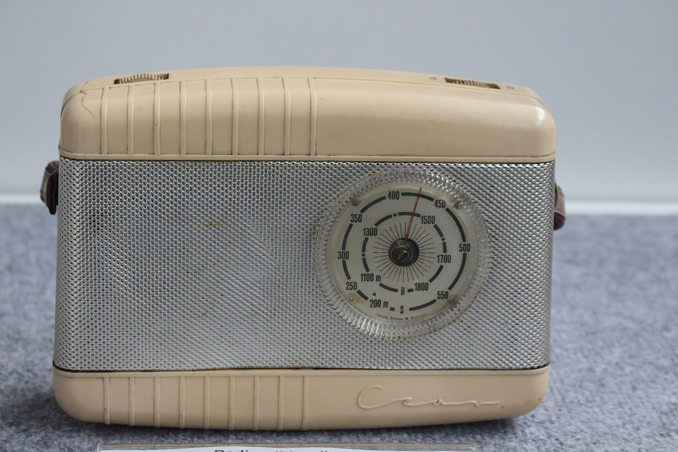 Radio, The Museum, Old, Exhibit