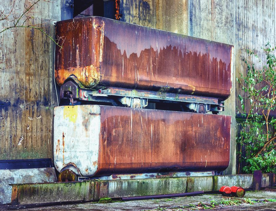 Lost Places, Bill, Old Factory, Lapsed, Decay, Leave