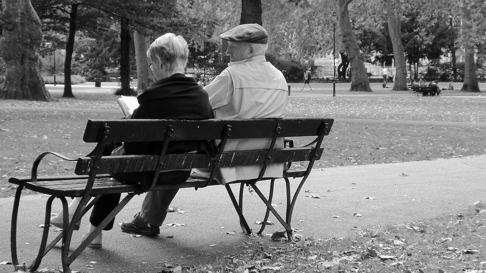 Park Life, London Parks, Reading, Old Folk
