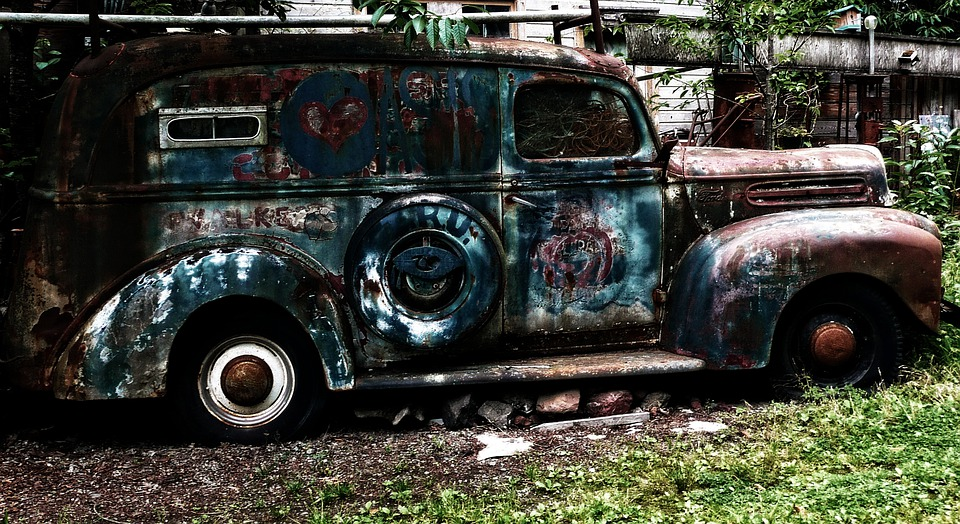 Free photo Old Ford Rusty Automobile Car Vehicle Truck - Max Pixel