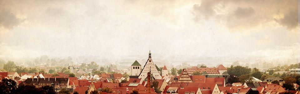 Old, Freiberg, Upper Market, Market, Fountain