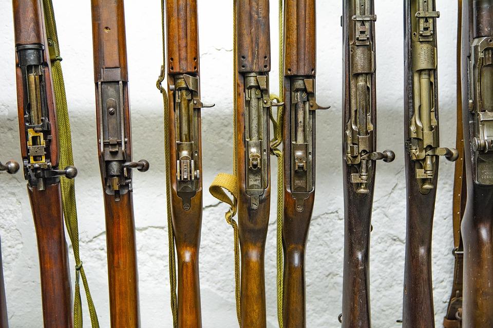 Guns, Old, Vintage, Weapon, Military, Gun, Handgun