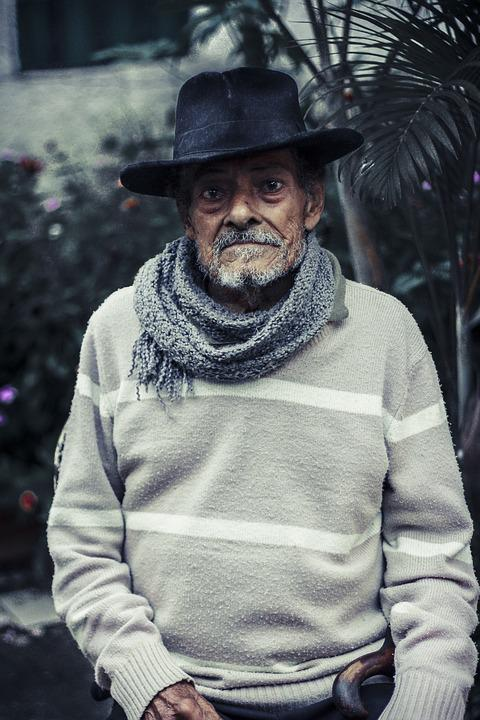 Elderly, Mr, Old, Grandpa, Velinho, Happy, Grandfather
