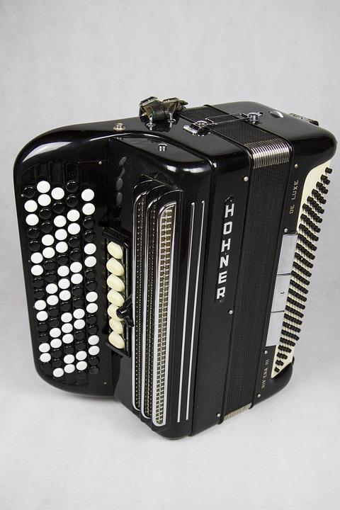 Harmonica, Case, Instrument, Old, Folk, Traditional