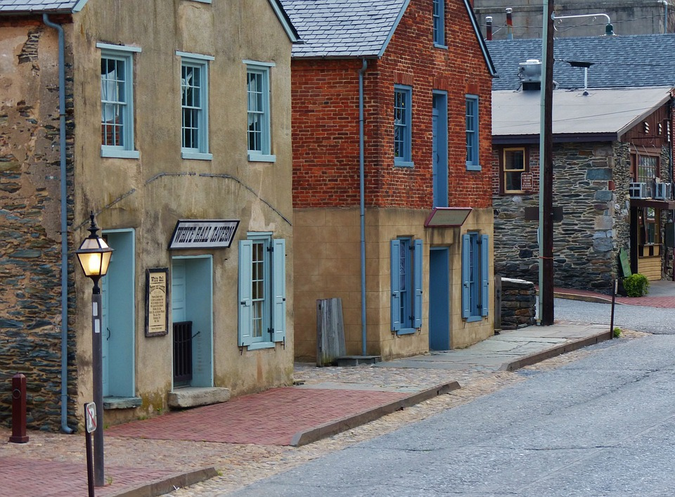 Harpers Ferry, Harper, Ferry, Old, Town, West Virginia