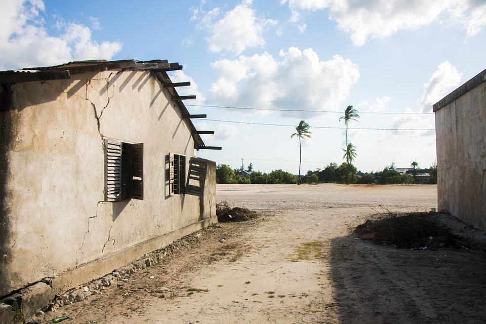 Zanzibar, House, Street, Africa, Old, Tanzania, Home