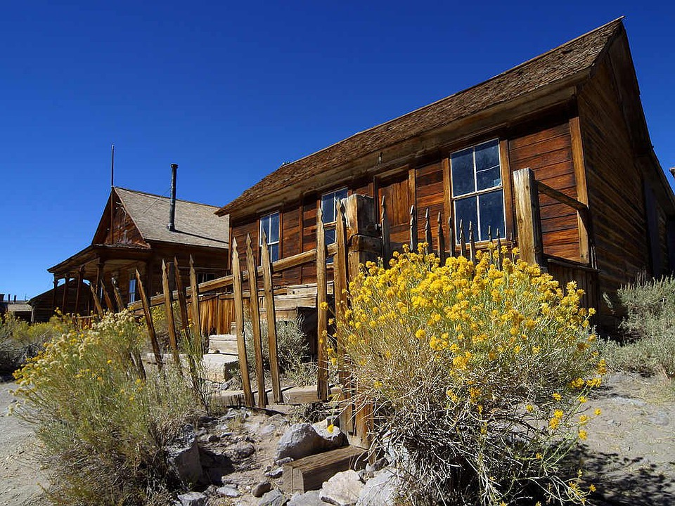 Ghost Town, Bodie, Wild West, Usa, Old, Leave, Homes