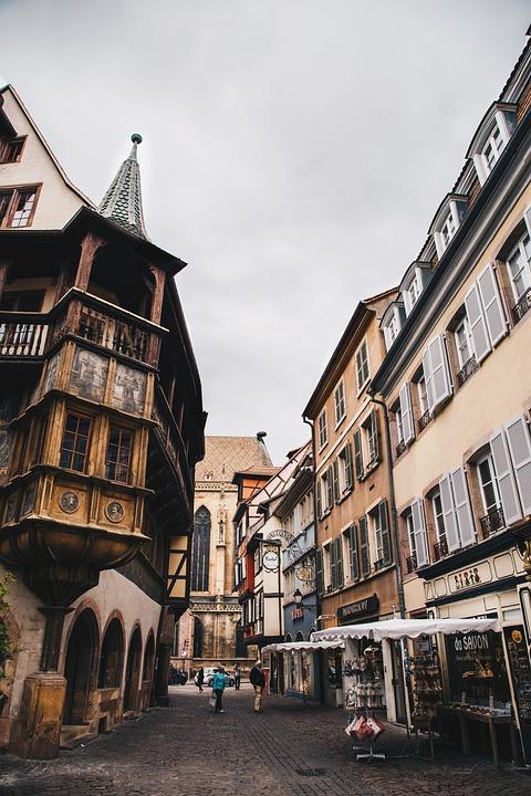 France, Alsace, Colmar City, City, Old City, Old House