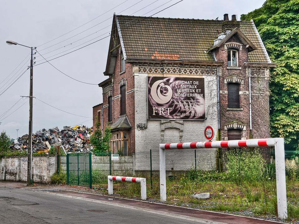 Scrap Dealer, House, Dilapidated, Old