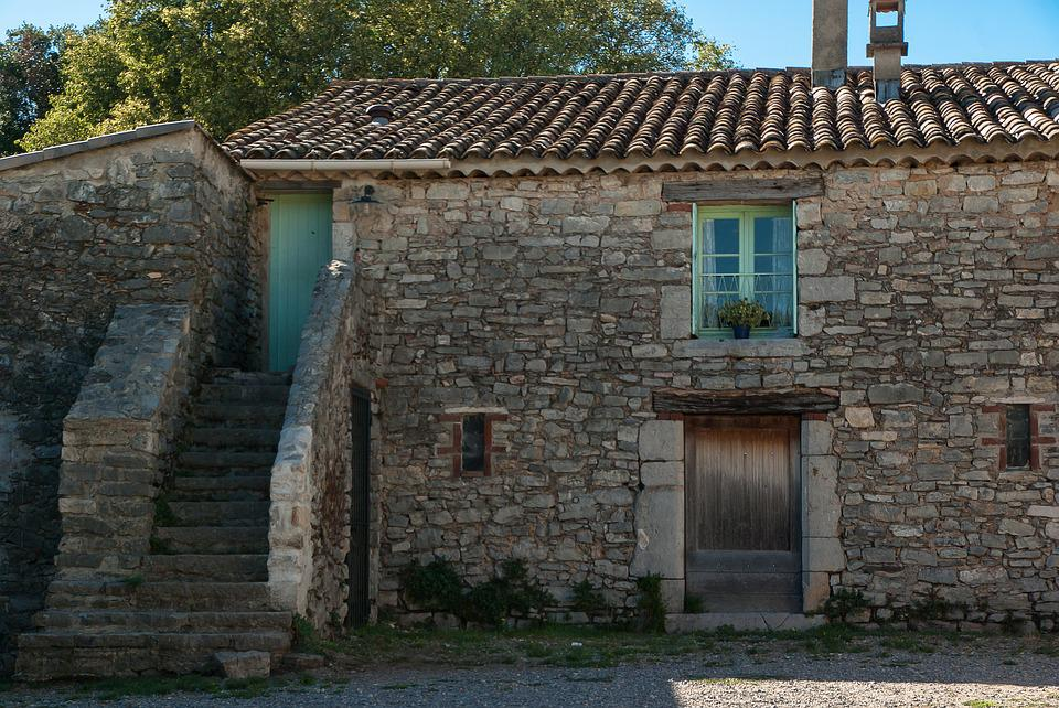Farm, Old House, Old Village, Architecture, Stones