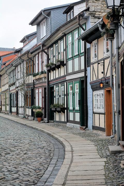 Architecture, Town, House, Old, City, Wernigerode
