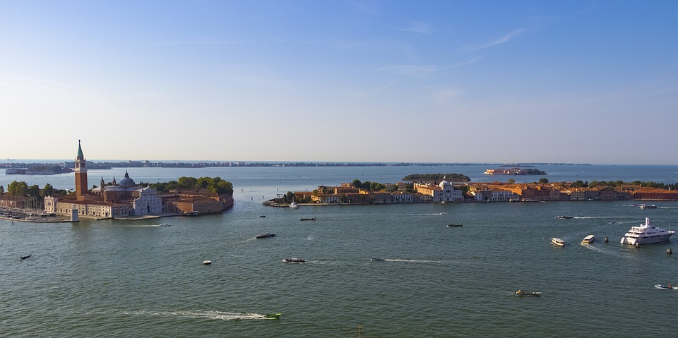 Venice, Italy, Architecture, Channel, Old Houses