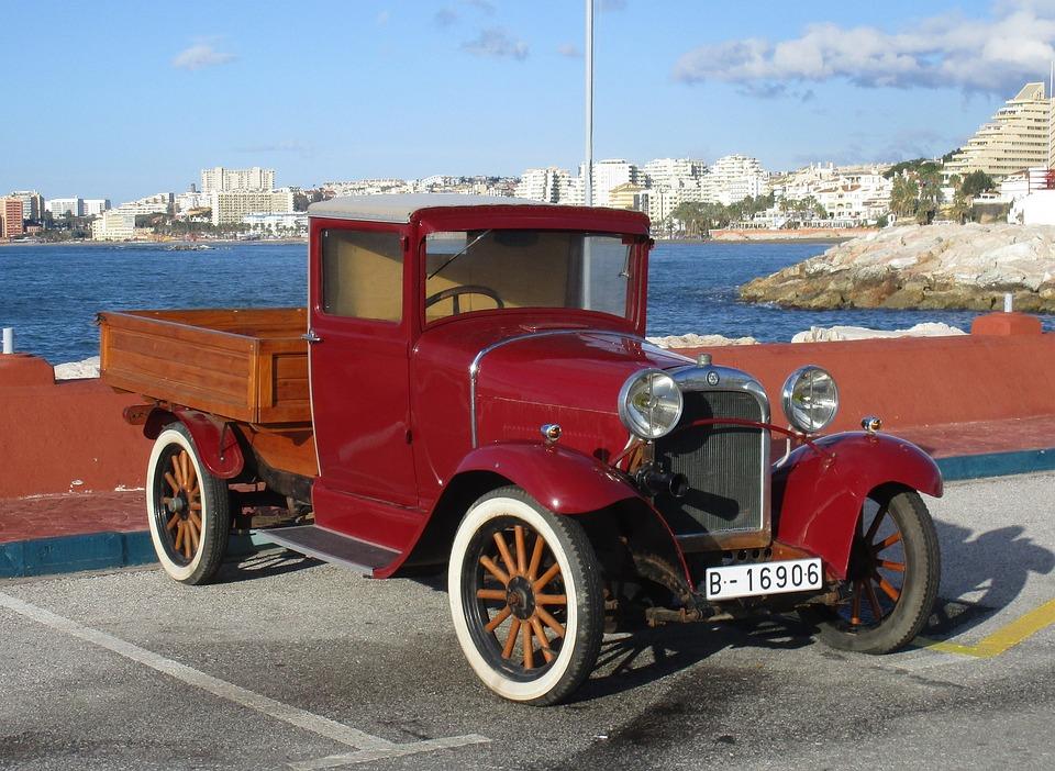 Free photo Old I Rerto Automobile Truck Dodge Vintage Cars - Max Pixel
