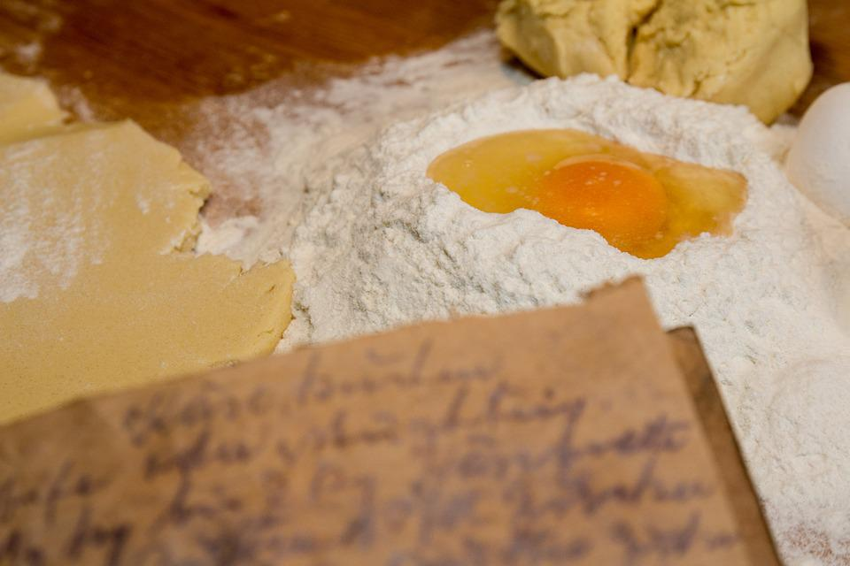 Bake, Ingredients, Recipe, Old, Kitchen, Preparation