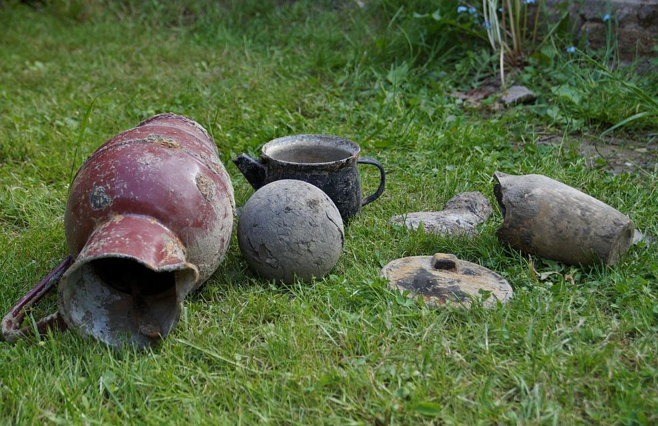 Junk, Find, Old, Iron Collection