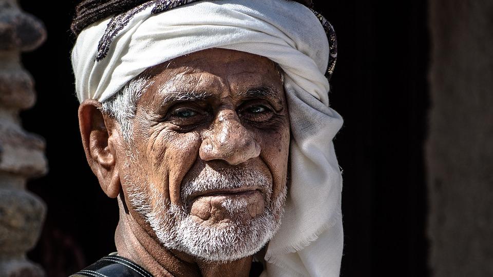 Arabs, Face, Orient, Arabic, Islam, Muslim, Man, Old