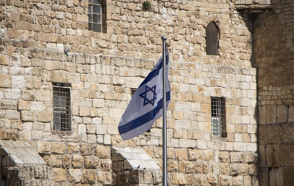 Israel, Flag, Israeli Flag, Jerusalem, Old Jerusalem
