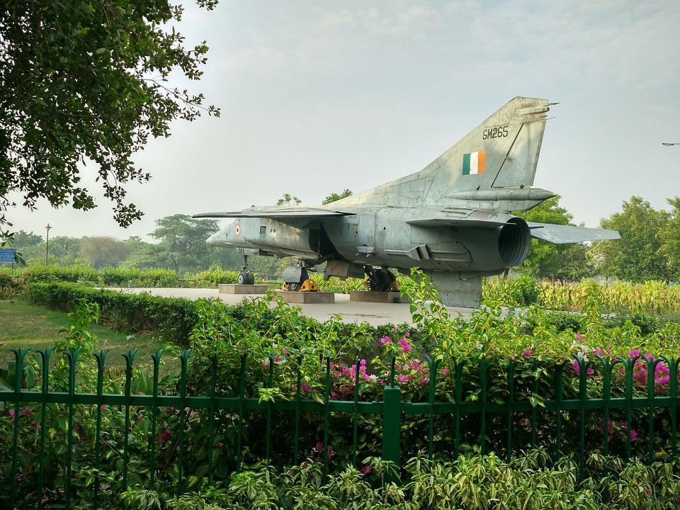 Old Jet, Indian Air Force, Fighter Plane