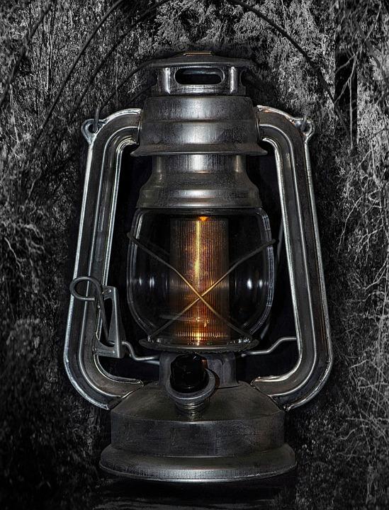 Mystical, Vintage, Antique, Lantern, Old