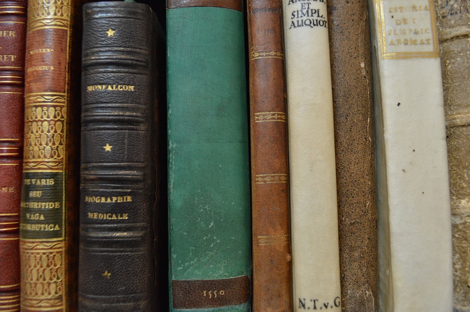 Book, Old, Library, Latin