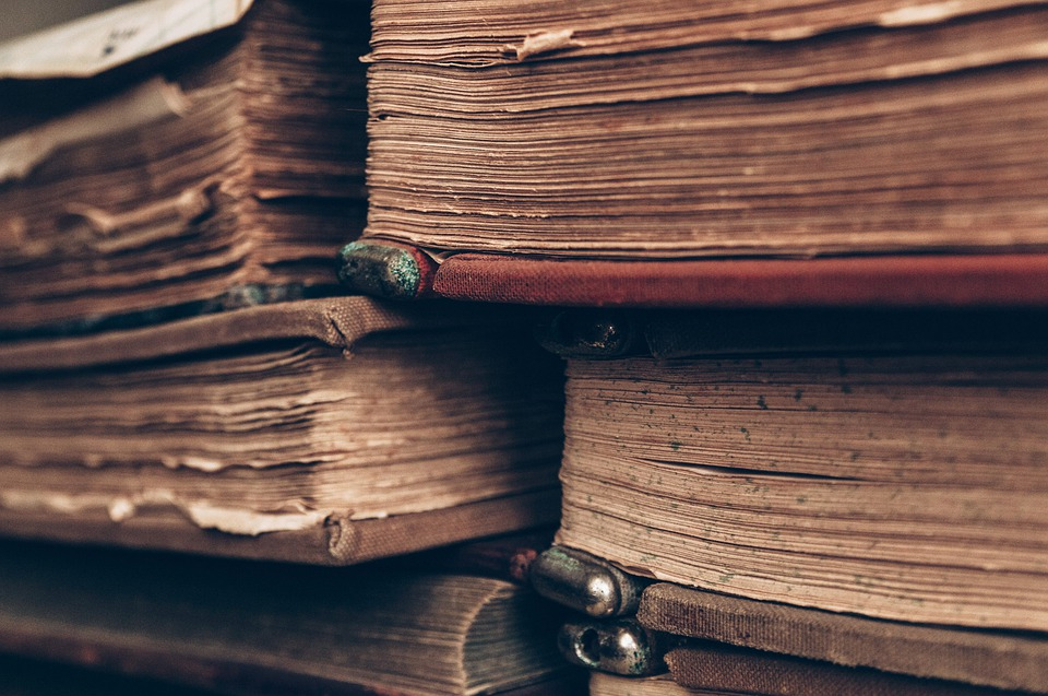 Books, Old, Antique, Literature, Library, Wisdom, Paper