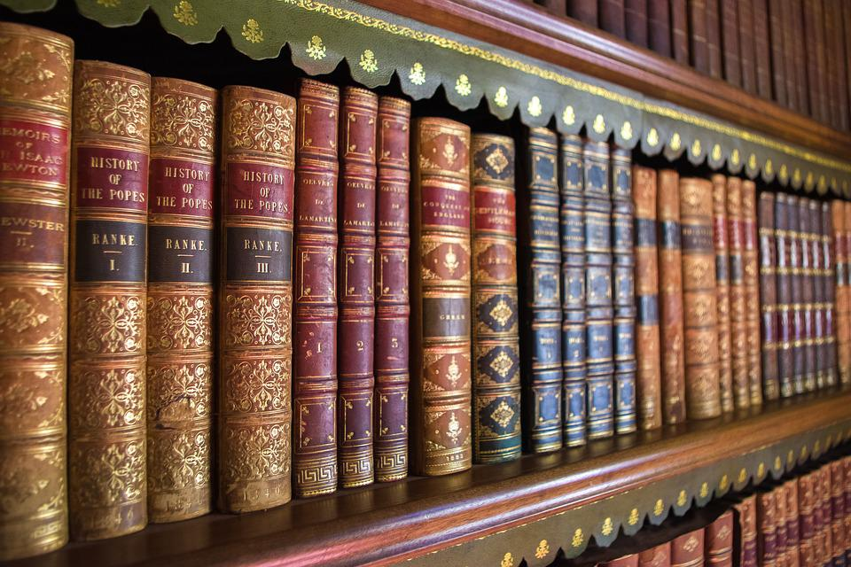 Books, Library, Series, Old, Education, Knowledge