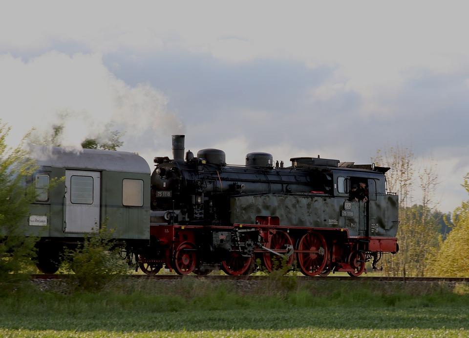 Blackjack, Train, Locomotive, Railway, Loco, Old