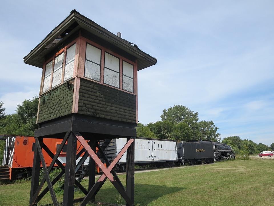 Watchtower, Lookout Tower, Train, Old, Guard, Travel