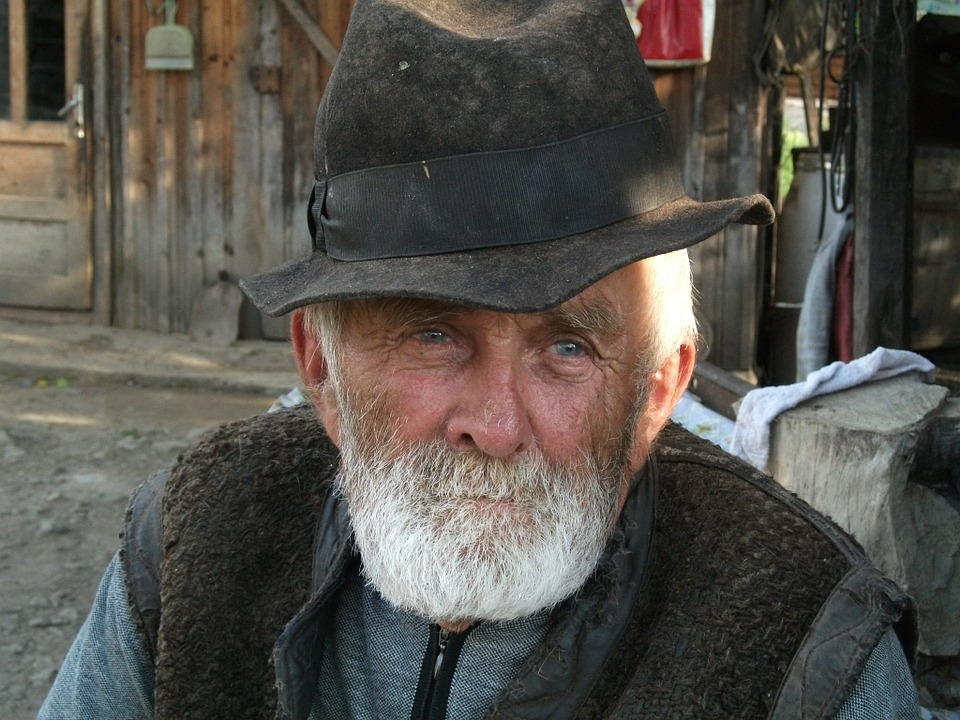 Peasant, Farmer, Farmer Romania, Botiza, Old, Man