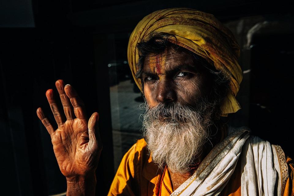 Old Man, Beard, Portrait, Face, Hand, Man, Old, Aged