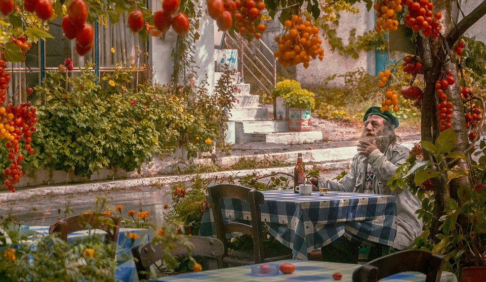 Autumn, Old Man, Memories, Tomatoes, Nature, Senior