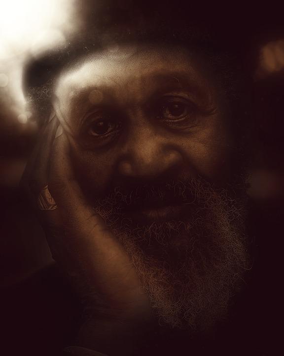 Old Man, Magical, Spiritual, Man, Old, People