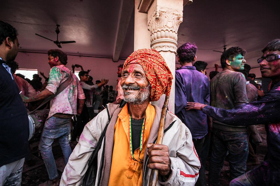 Old Man, Pagri, Indian, Turban, Smile, Happy, Elderly