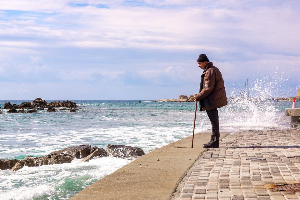 The Old Man And The Sea, Old Man, Sea, Ocean Coast
