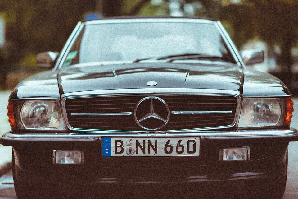 Free photo Old Mercedes Benz Plate Number Vintage Car Benz - Max Pixel