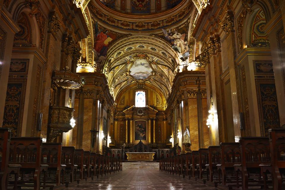 Cathedral, Cordoba, Old, Urban, Monument, Religious
