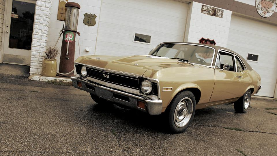 Free photo Old Muscle Car Nova - Max Pixel